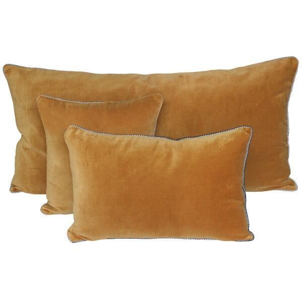 Housse de coussin en velours Delhi Harmony 45 x 45 cm