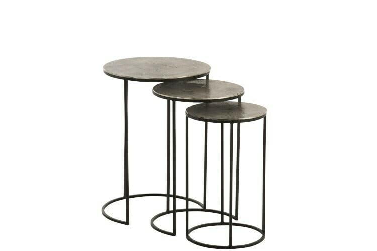 Set 3 tables gigognes