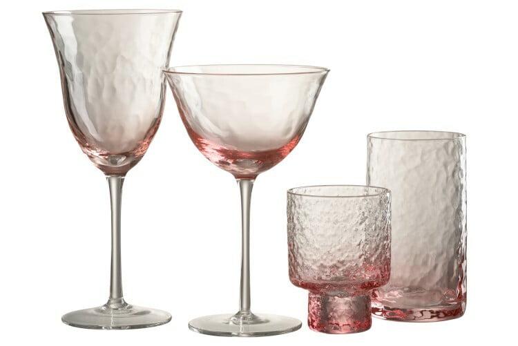 Verres à cocktail X2 Pink