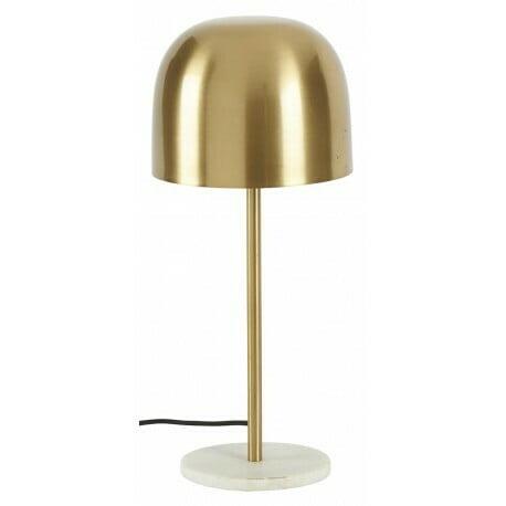 Lampe champignon sur pied, doré