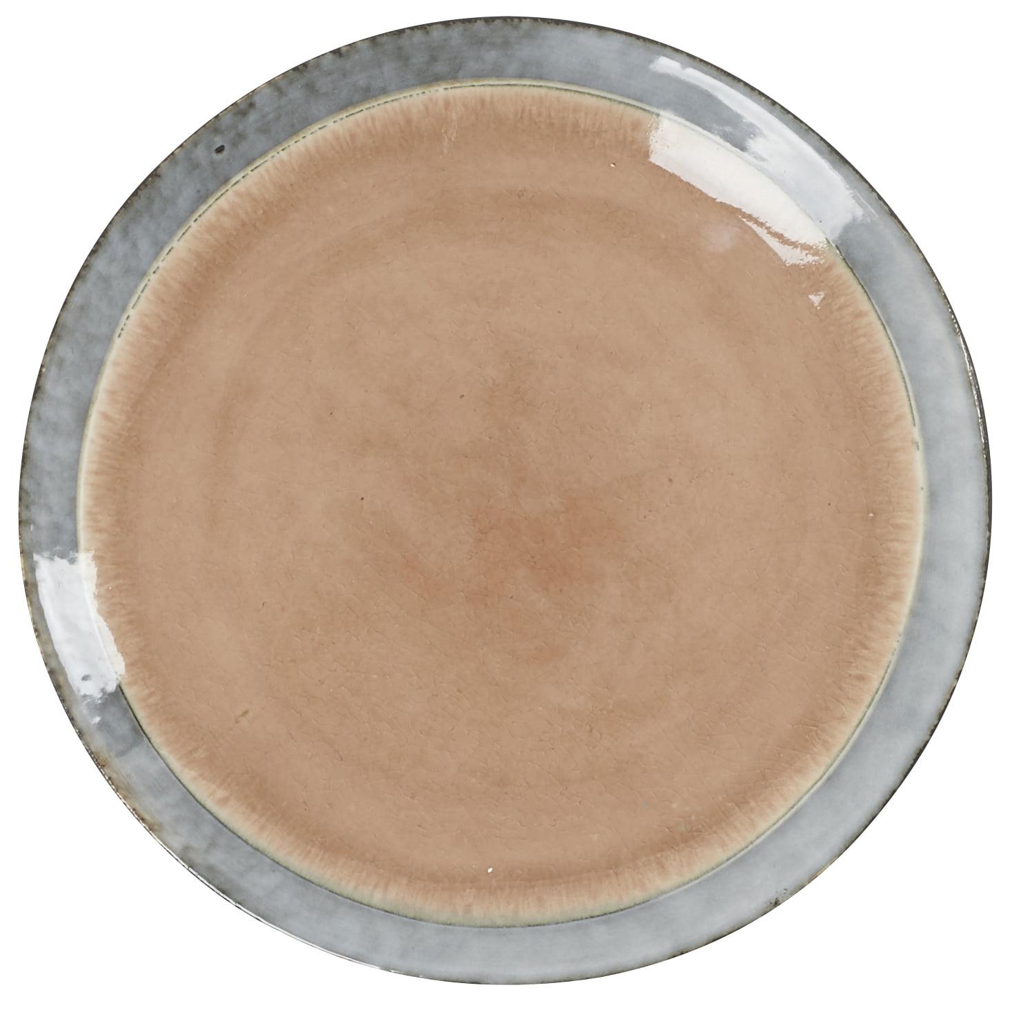 Assiette bol en céramique rose Athezza
