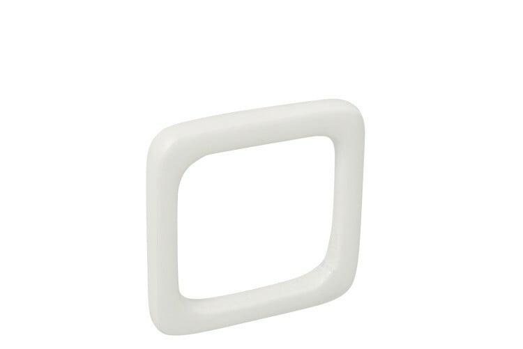 Coffret de 4 ronds de serviette blanc