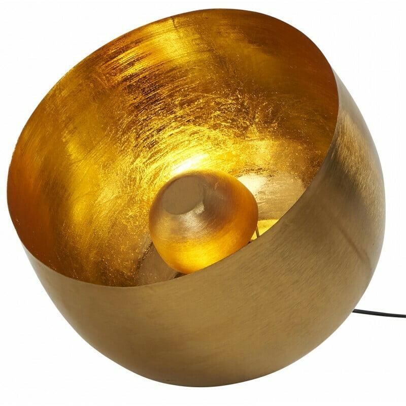 Lampe de sol dorée M- Athezza