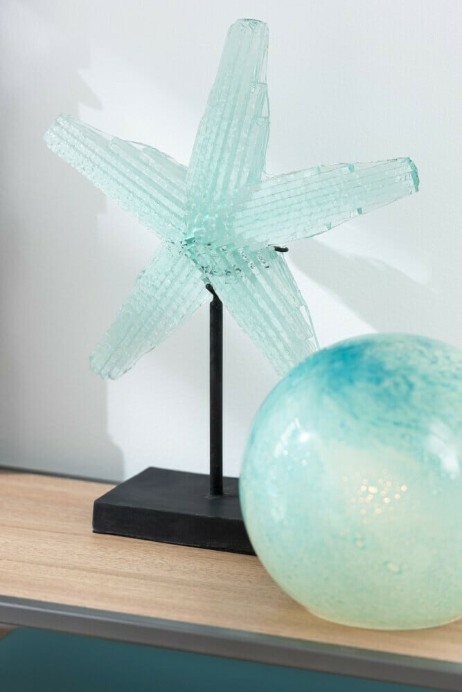 Lampe Dany S turquoise J-Line