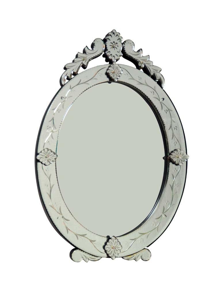 Miroir vénitien oval