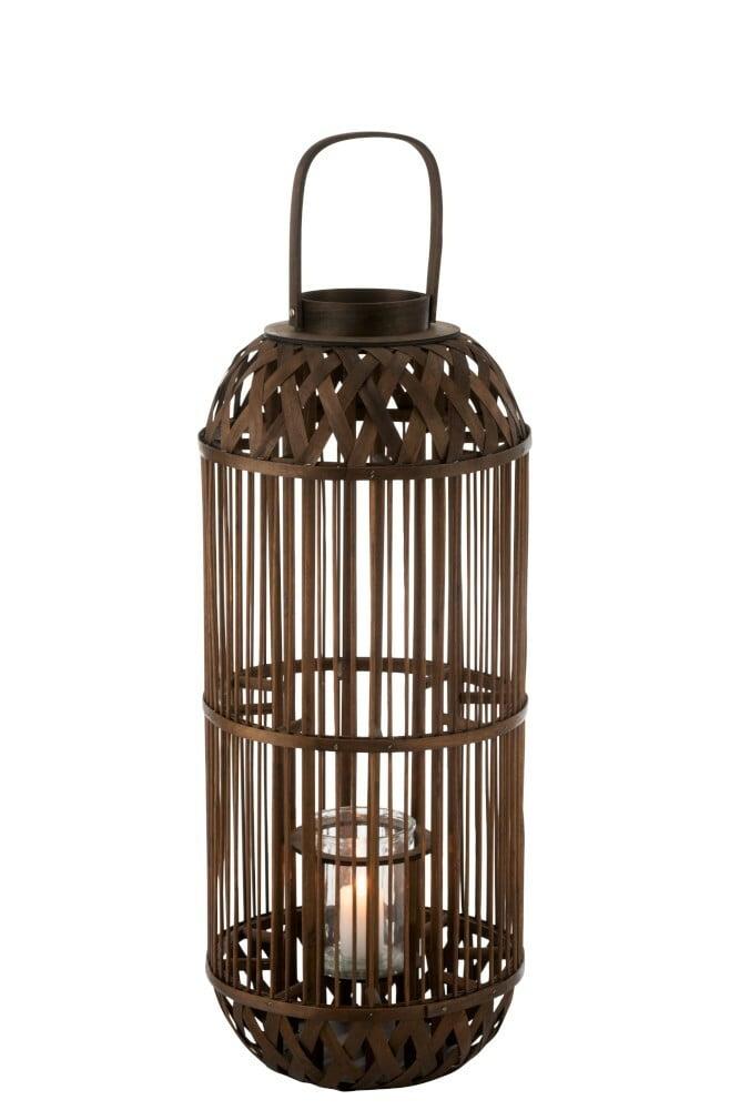 Lanterne bambou Savane J-Line