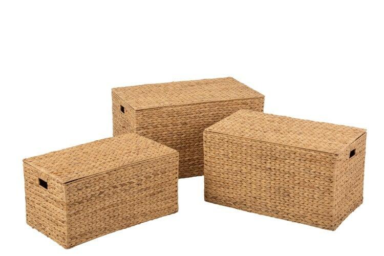 Coffres en rotin/bambou S J-Line