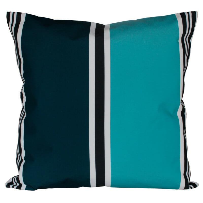 Housse coussin exterieur Harmony Swan bleu